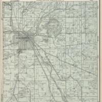 1924 Burlington Plat Map