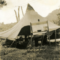 A picture of a tent