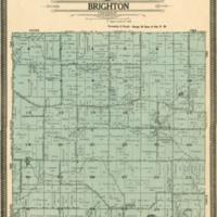 1908 Brighton Plat Map