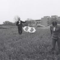 Art class flying kites