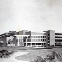 Drawing of UW-Parkside campus