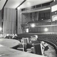 Communication Arts building theatre under construction