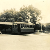 A picture of a tram