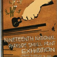 19th Parkside National Small Print Exhibition program cover