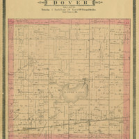 1887 Dover Plat Map