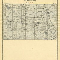 1899 Wheatland Plat Map