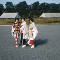Three Japanese women