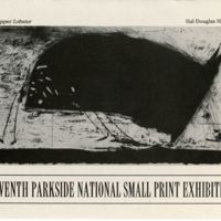 7th Parkside National Small Print Exhibition Program cover