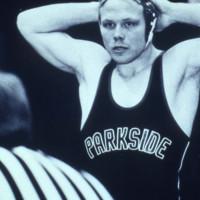 UW-Parkside wrestler