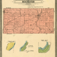 1908 Rochester Plat Map