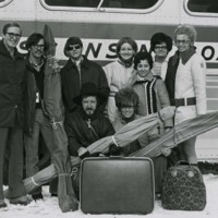 UW-Parkside student ski trip