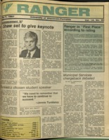 The Parkside Ranger, Volume 15, issue 30, May 7, 1987
