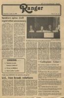 The Ranger, Volume 8, issue 27, April 10, 1980