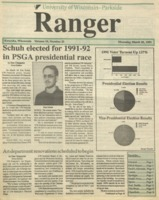 The Parkside Ranger, Volume 19, issue 23, March 28, 1991