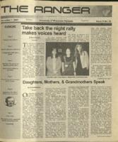 The Ranger , Volume 32, issue 9, November 1, 2001