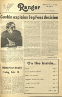 The Parkside Ranger, Volume 6, issue 21, February 15, 1978