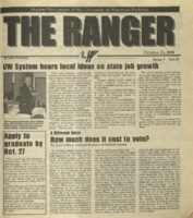 The Ranger , Volume 30, issue 7, October 26, 2000