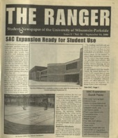The Ranger , Volume 30, issue 1, September 14, 2000