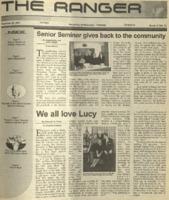 The Ranger , Volume 32, issue 12, November 29, 2001