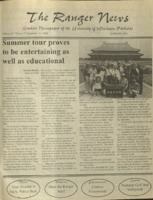The Ranger News, Volume 27, issue 1, September 17, 1998