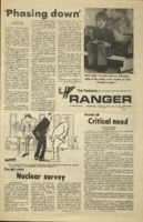 The Parkside Ranger, Volume 3, issue 33, April 23, 1975