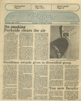The Parkside Ranger, Volume 13, issue 1, September 6, 1984