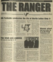 The Ranger , Volume 31, issue 15, January 25, 2001
