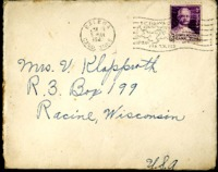 Letter from Daniel Klapproth to his mother while stationed in Fort Amador, Canal Zone, January 16, 1941