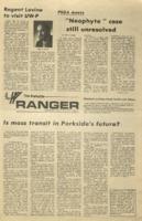 The Parkside Ranger, Volume 2, issue 14, December 5, 1973