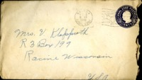Letter from Daniel Klapproth to his mother while stationed in Fort Amador, Canal Zone, October 10, 1940