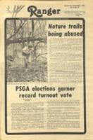 The Parkside Ranger, Volume 6, issue 10, November 2, 1977