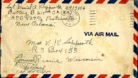Letter from Daniel Klapproth to his mother while stationed in Canal Zone, January 13, 1943