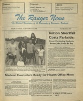 The Ranger News, Volume 25, issue 3, September 19, 1996