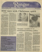 The Parkside Ranger, Volume 12, issue 12, December 1, 1983
