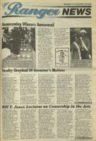 Ranger News, Volume 23, issue 7, October 13, 1994