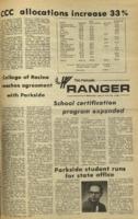 The Parkside Ranger, Volume 3, issue 1, June 19, 1974