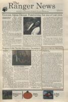 The Ranger News, Volume 41, issue 3, October 25, 2011