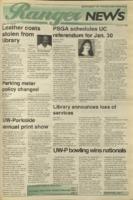 Ranger News, Volume 23, issue 15, January 19, 1995