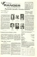 The Parkside Ranger, Volume 1, issue 28, May 9, 1973