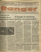 The Parkside Ranger, Volume 18, issue 11, November 16, 1989