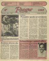 The Parkside Ranger, Volume 14, issue 30, May 1, 1986