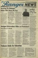 Ranger News, Volume 23, issue 10, November 3, 1994