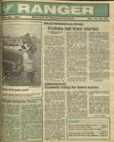 The Parkside Ranger, Volume 15, issue 24, March 26, 1987