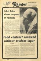 The Parkside Ranger, Volume 6, issue 6, October 5, 1977