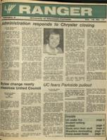 The Parkside Ranger, Volume 15, issue 17, February 4, 1987