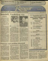 The Parkside Ranger, Volume 13, issue 23, March 21, 1985