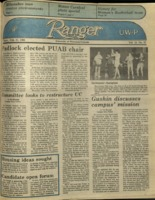 The Parkside Ranger, Volume 13, issue 20, February 21, 1985