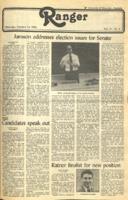 The Parkside Ranger, Volume 11, issue 6, October 14, 1982