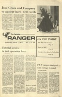The Parkside Ranger, Volume 1, issue 20, March 7, 1973