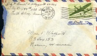 Letter from Daniel Klapproth to his mother while stationed in Fort Bliss, Texas, June 29, 1944